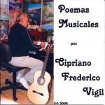 Poemas Musicales - CD by Cipriano Vigil