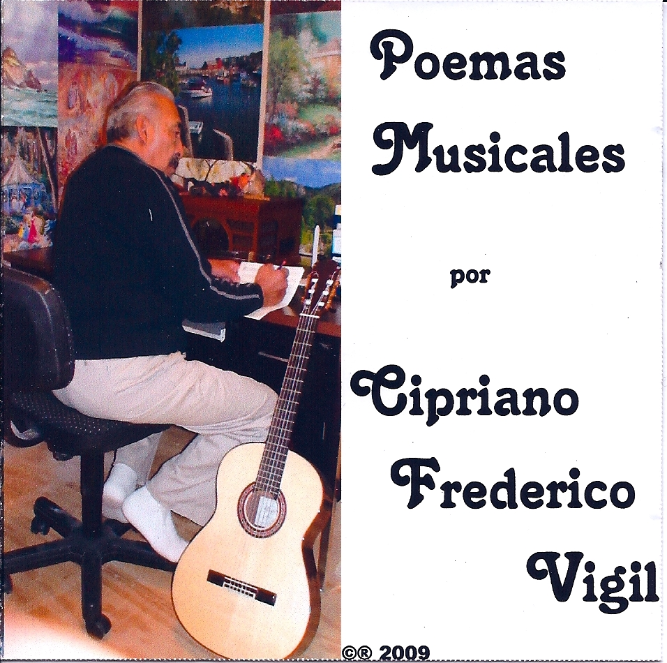 Poemas Musicales - CD by Cipriano Vigil