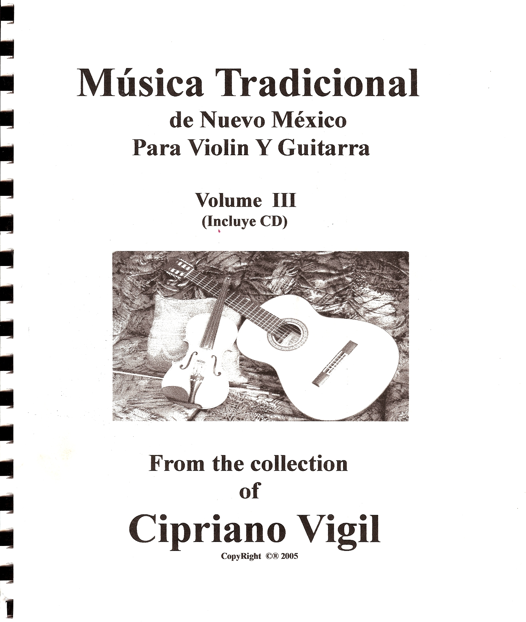 Traditional Folk Music, Volume III - Cipriano Vigil
