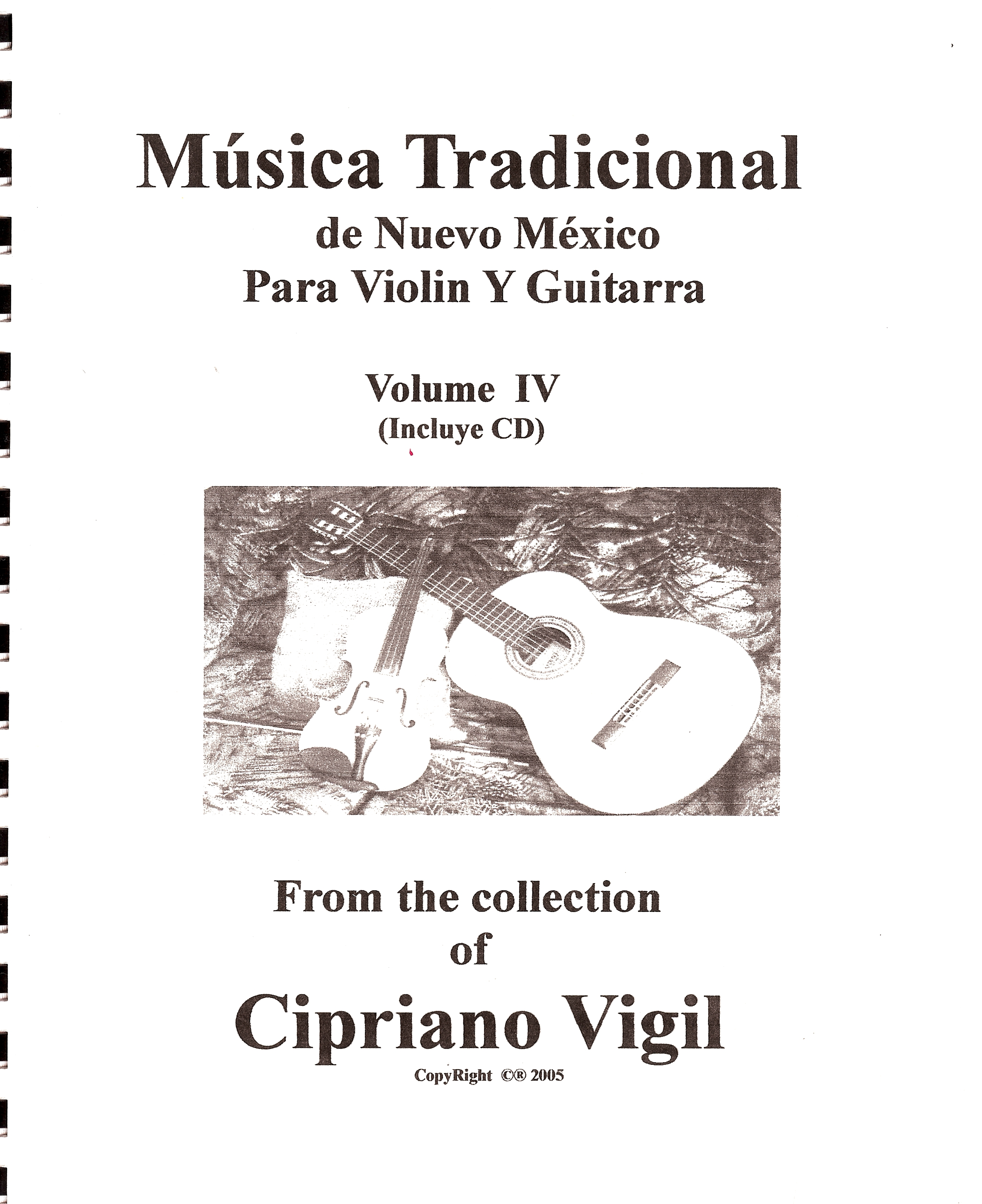 Traditional Folk Music, Volume IV - Cipriano Vigil