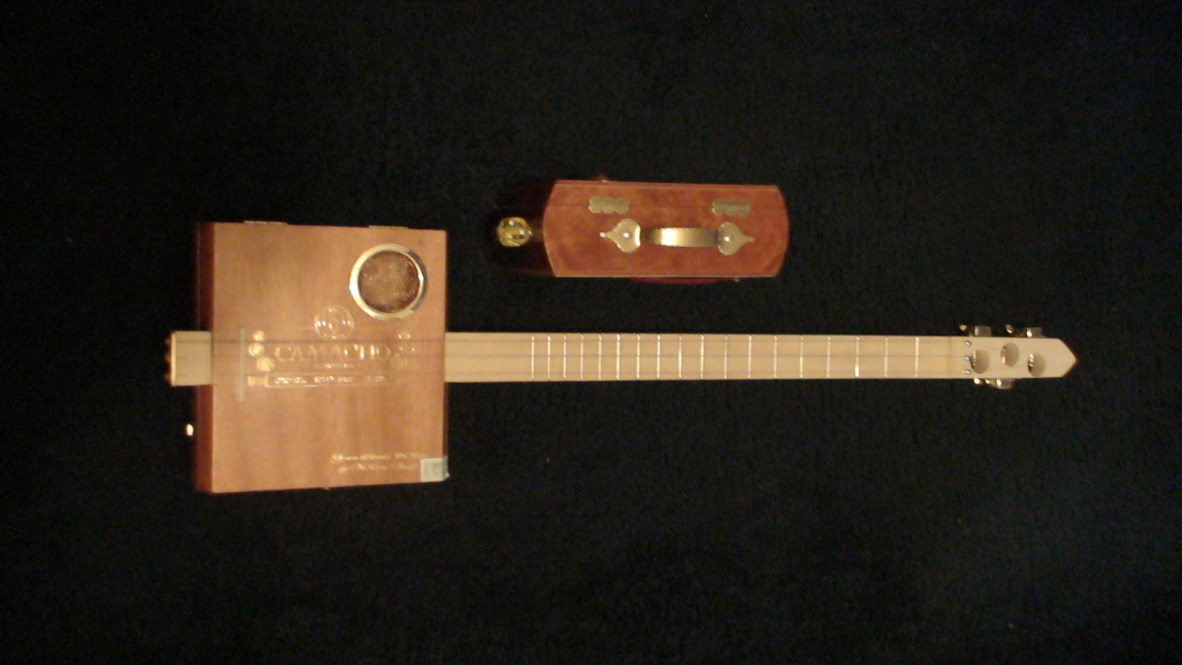 Camacho Cigar Box Guitar by Cipriano Vigil