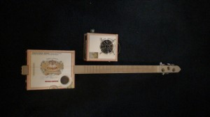 Hoffman II Cigar Box Guitar by Cipriano Vigil