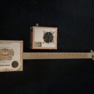 Hoffman II Cigar Box Guitar by Cipriano Vigil