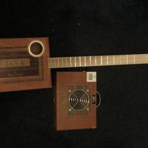 Java Cigar Box Guitar by Cipriano Vigil