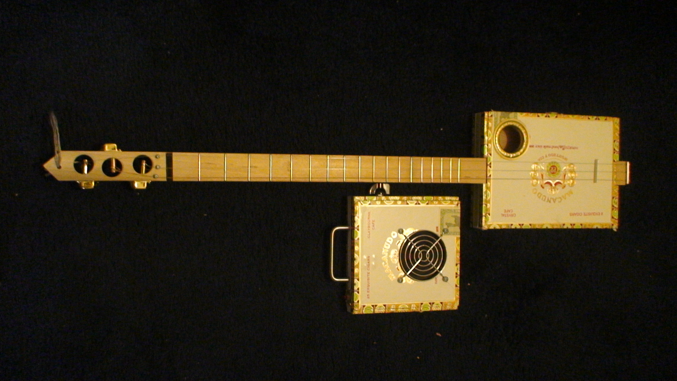 Macanudo Cigar Box Guitar by Cipriano Vigil