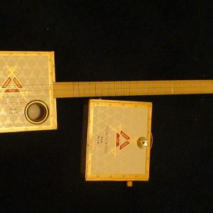 Monte Cristo Cigar Box Guitar by Cipriano Vigil