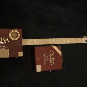 Olivia Cigar Box Guitar by Cipriano Vigil