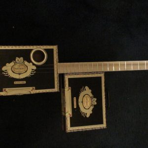 Pantagas Cigar Box Guitar by Cipriano Vigil