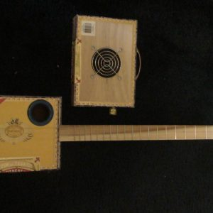 Partagas Cigar Box Guitar by Cipriano Vigil
